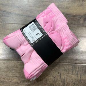 NIKE EVERYDAY CUSHIONED CREW SOCKS YTH 5Y-7Y pink